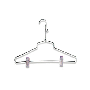 Image of chrome suit hangers