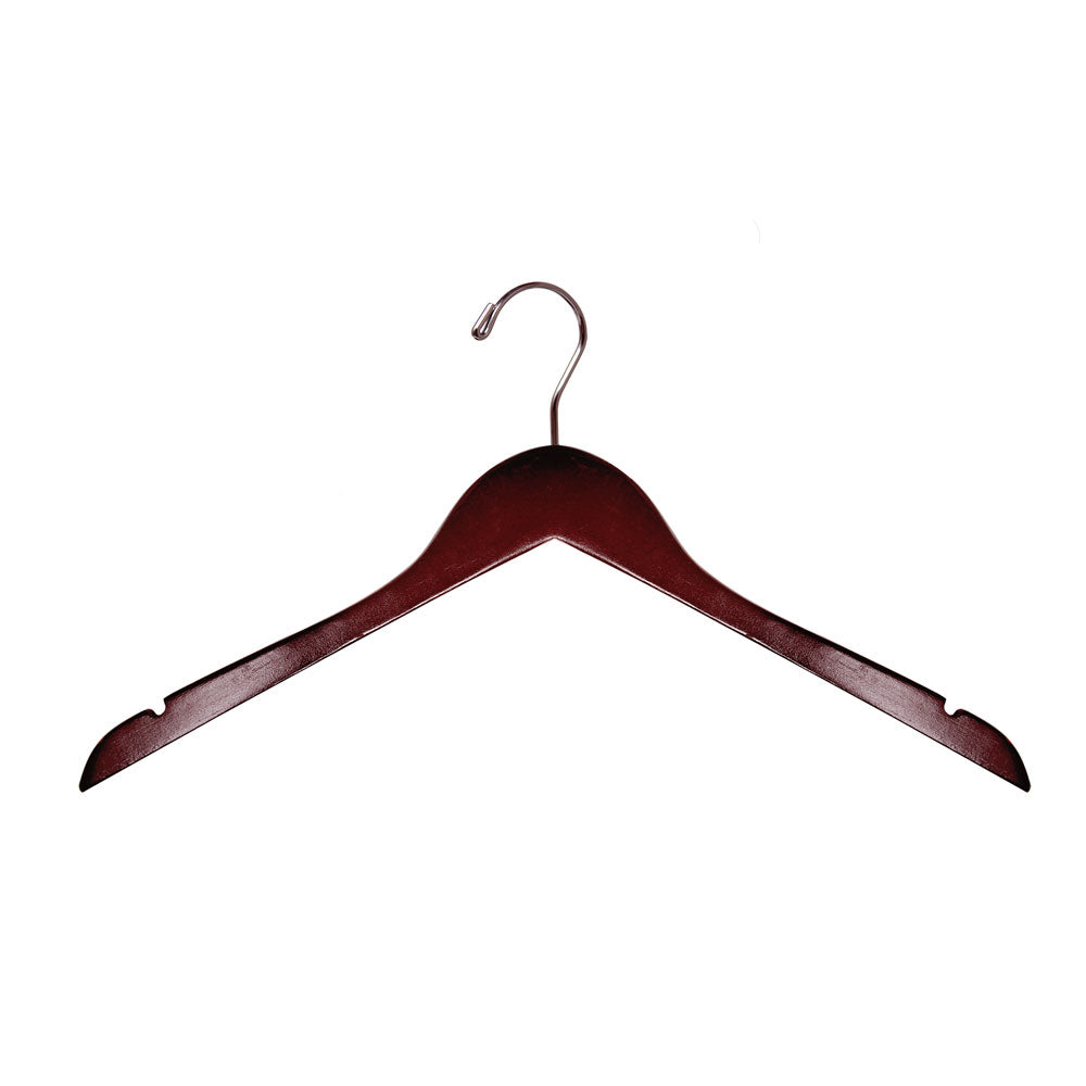 "17"" Standard - Wood Dress & Top Hanger"