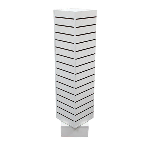 Image of Revolving Slatwall Tower Display - Small