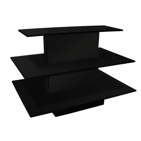 Image of 3 Tier Rectangle Waterfall Table