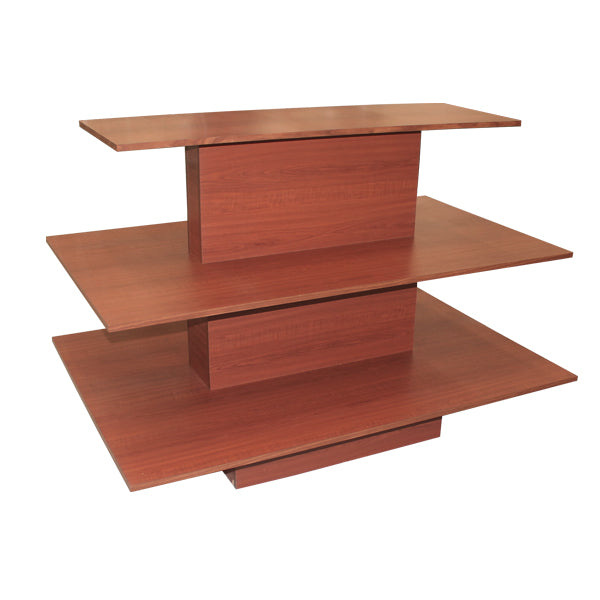 3 Tier Rectangle Waterfall Table