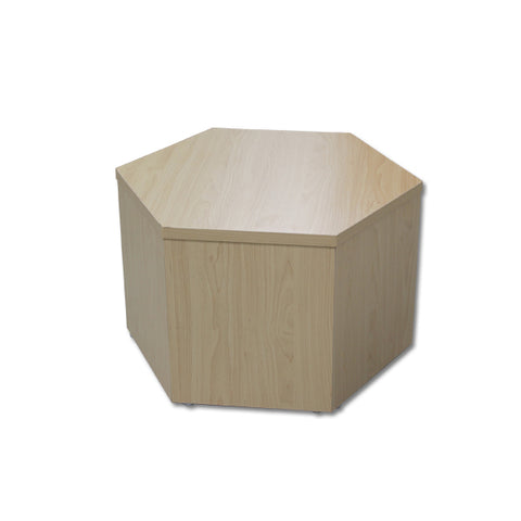 "Image of Hexagonal Knockdown Bases - 12"" High"