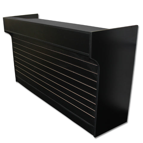 6' Ledgetop Counter with Slatwall Front