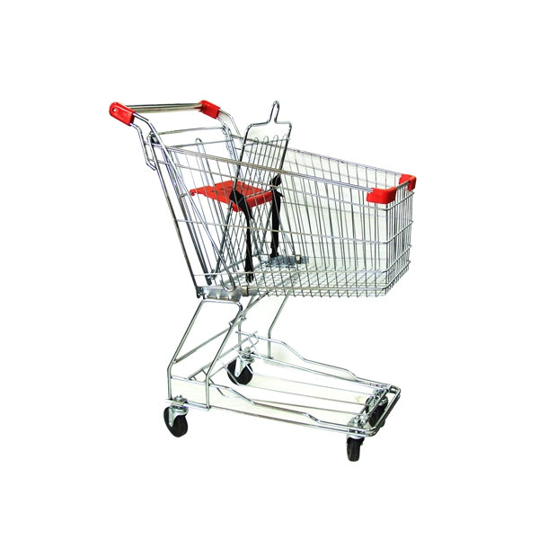 Metal Shopping Cart - 60 Liters