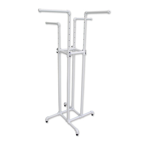 Pipeline - 4 Way Rack - White