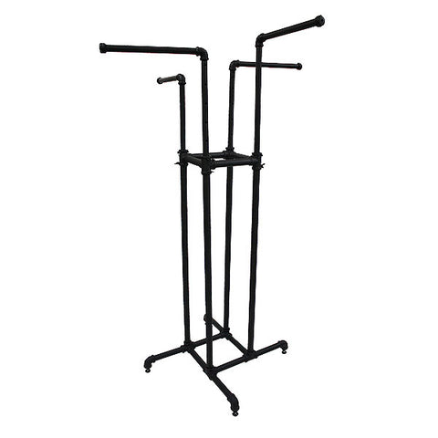 Pipeline - 4 Way Rack - Matte Black