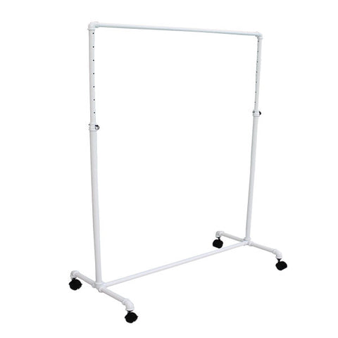 Pipeline - Rolling Rack - White