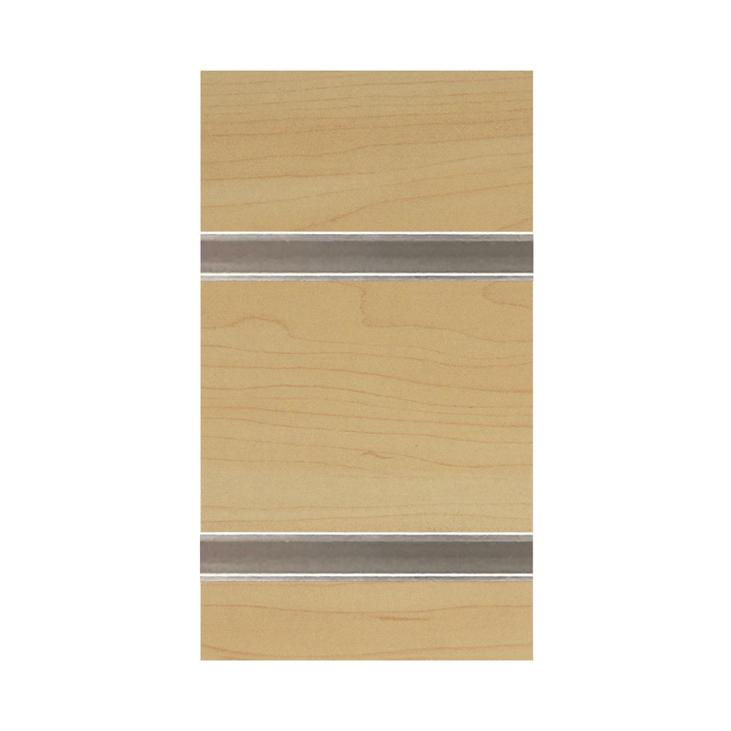 slatwall sheet maple with metal inserts
