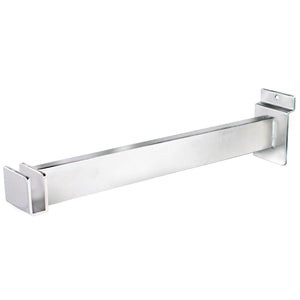 "12"" Rectangular Tubing Slatwall Bracket"