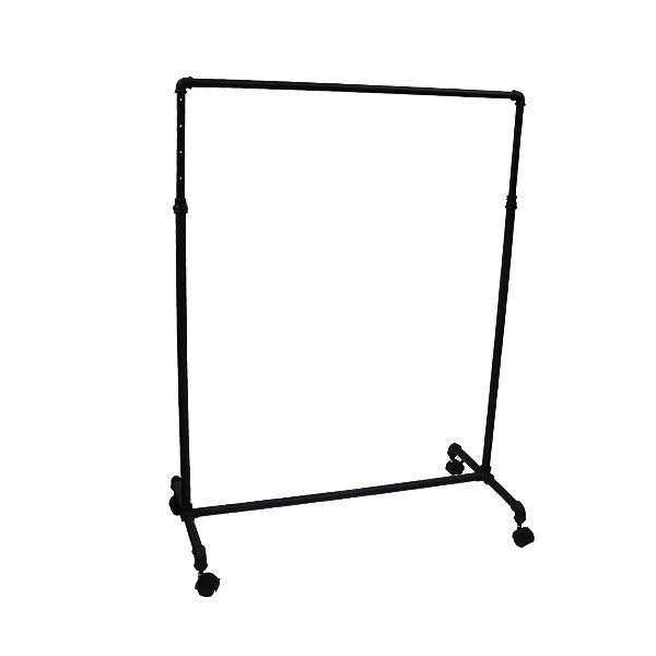 Pipeline - Rolling Rack - Matte Black