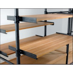 Wood Shelves w/ Brackets