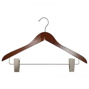 Image of economy wood hangers