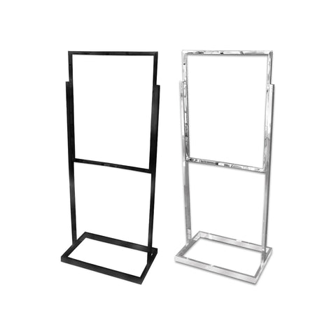 Image of Safety Covid Banner Stand