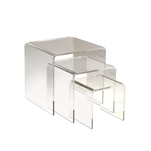 Clear Risers - Square
