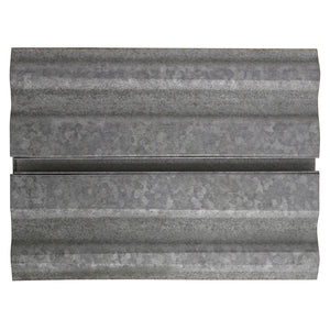 Galvanized Corrugated Metal Slatwall