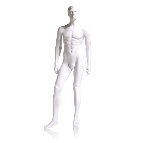 Male Mannequin - Molded Hair