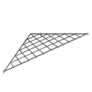 Image of Triangle Grid Shelf