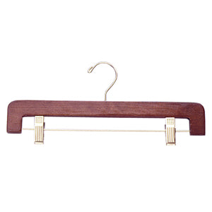 "SD400 Series - 14"" Wood Pant & Skirt Hanger"