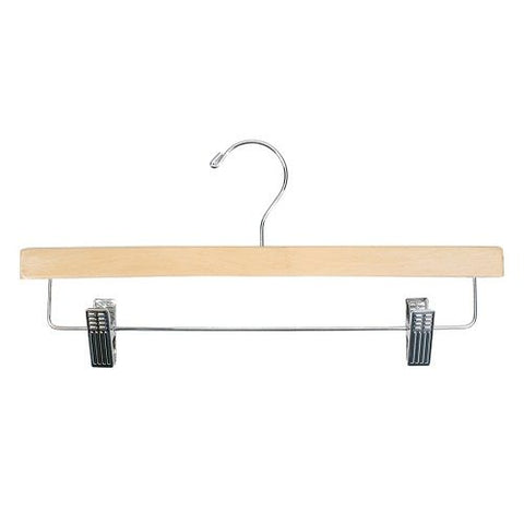 Image of Wooden pants hanger