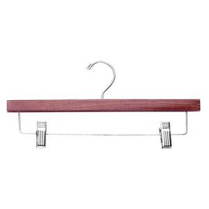 "Wood Pant & Skirt Hanger - 14"" or 10"" - Many Colors"