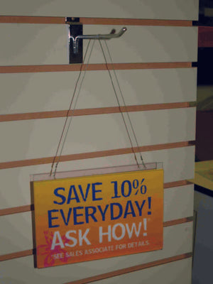 Hanging Sign Holder