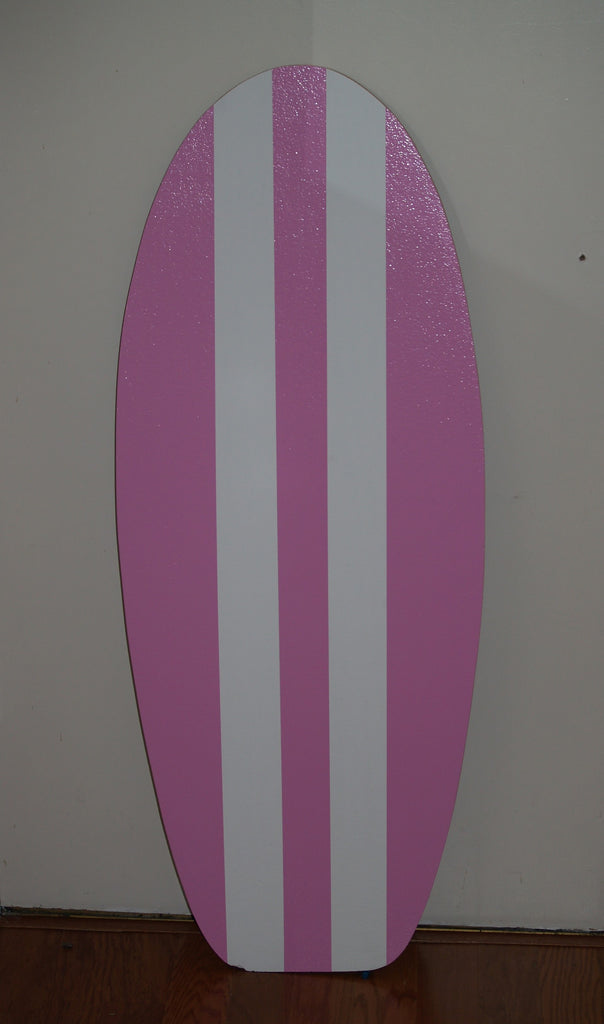 Pink Surfboard Corkboard for wall