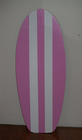 Image of Pink Surfboard Corkboard for wall