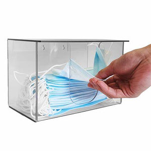 Clear mask dispenser