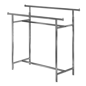 Image of adjustable double bar rack