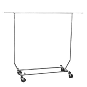 Collapsible Single Bar Garment Rack