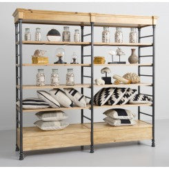 Double Wide Etagere