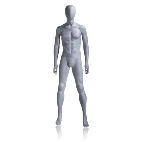 Image of Male Mannequin - Slate Gray