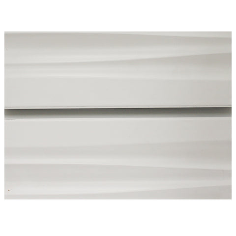 White Wave Slatwall