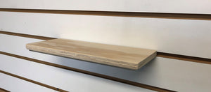 Wooden shoe shelf