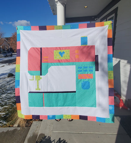 Oh the Possibilities Quilt Tester - Courtney