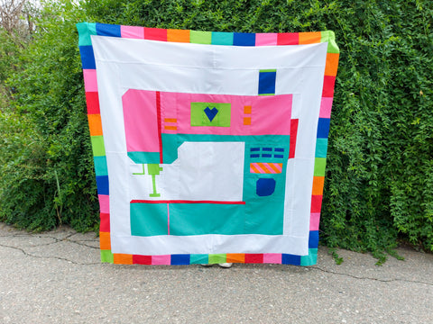Oh the Possibilities Tester Quilt by Andrea