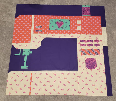oh the possibilities quilt tester - Lauren