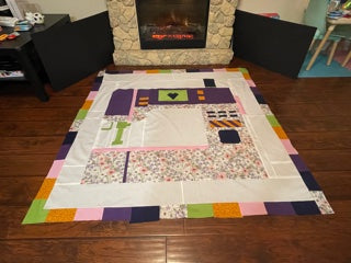 Oh the Possibilities Quilt Tester - Kristin