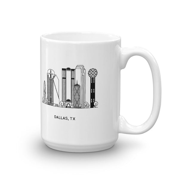 Dallas Texas 15oz Coffee Mug