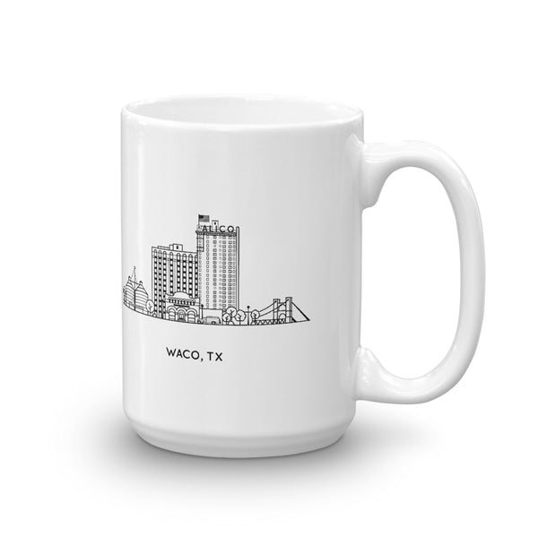 Waco Texas 15oz Coffee Mug