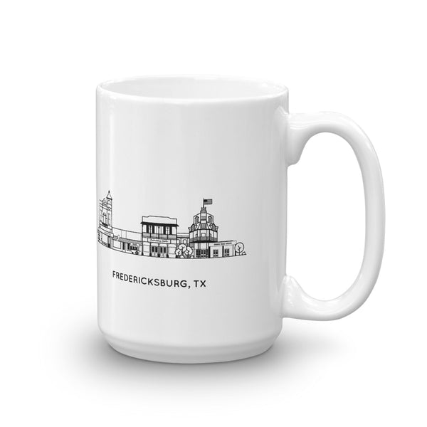Fredericksburg Texas 15oz Coffee Mug