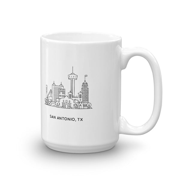 San Antonio Texas 15oz Mug