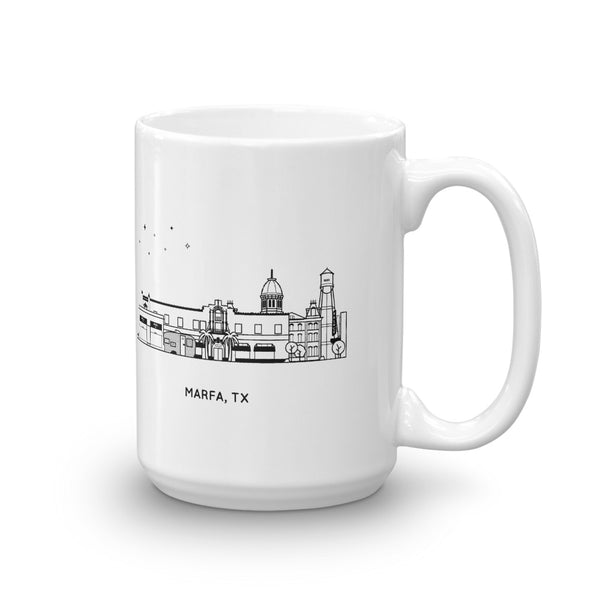 Marfa Texas 15oz Coffee Mug