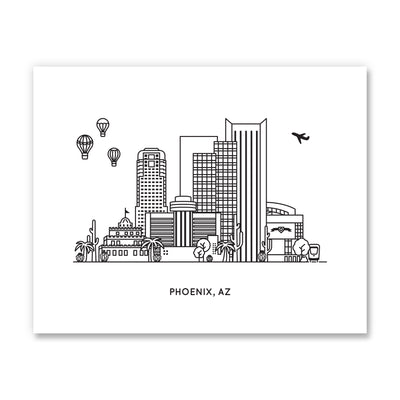 phoenix arizona art print