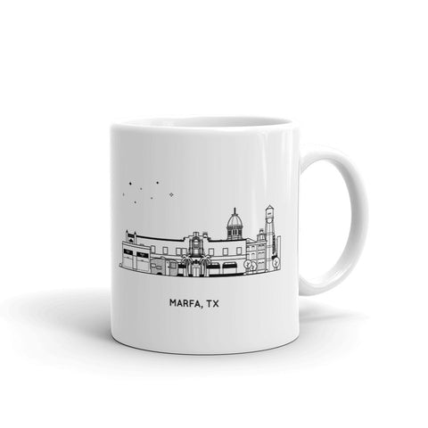 Marfa Texas 11oz Coffee Mug
