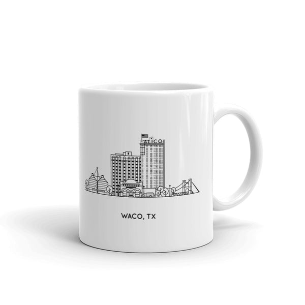 Waco Texas 11oz Coffee Mug