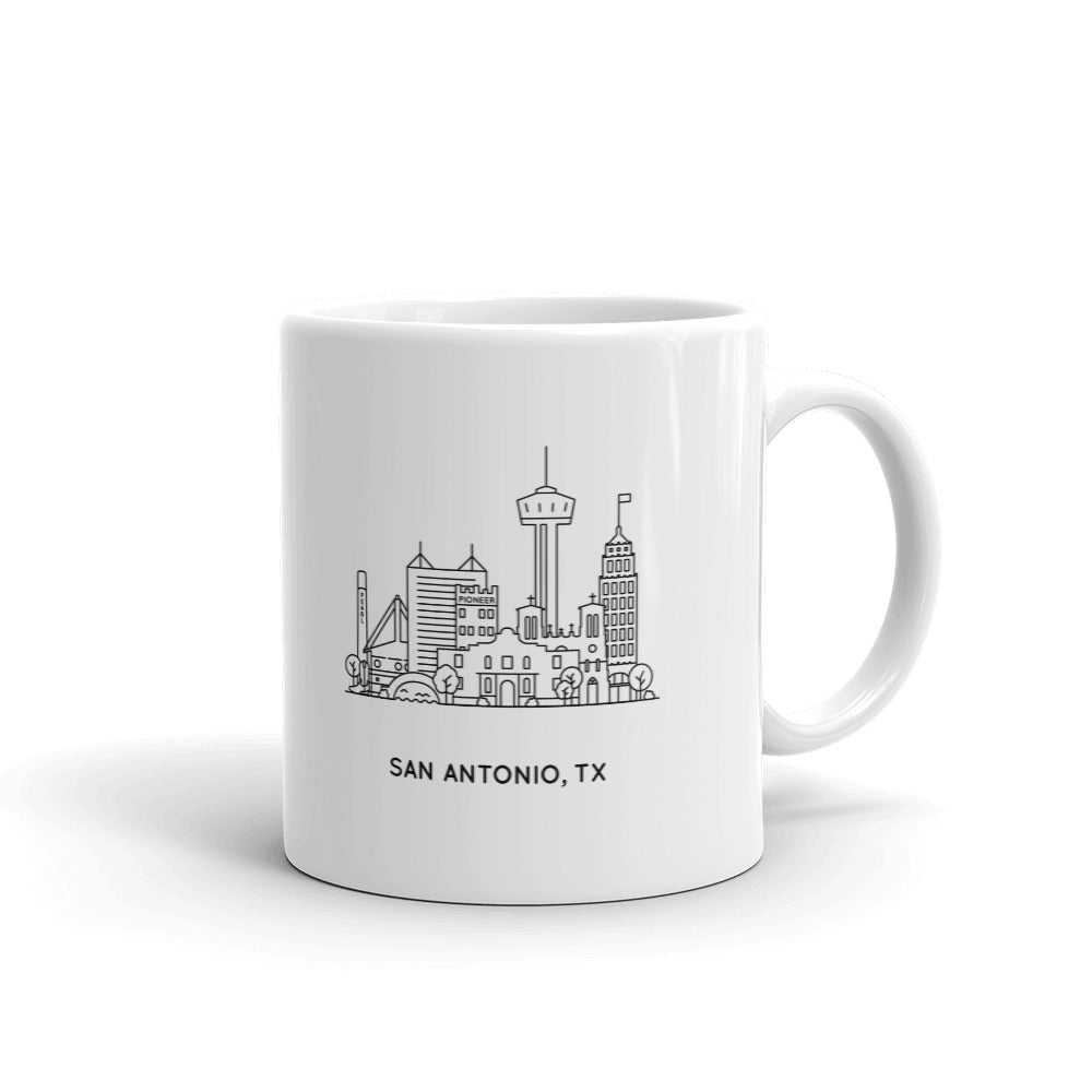San Antonio Texas 11oz Mug