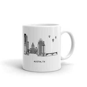 Austin Texas 11oz Coffee Mug