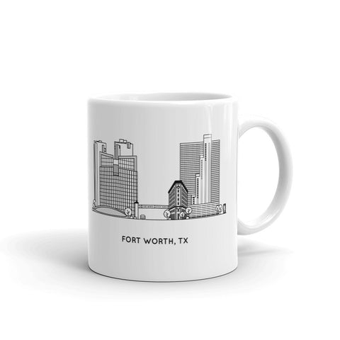 Fort Worth Texas 11oz Coffee Mug