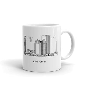 Houston Texas 11oz Coffee Mug